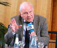 Bild Podiumsdiskussion Prof. Steinbach