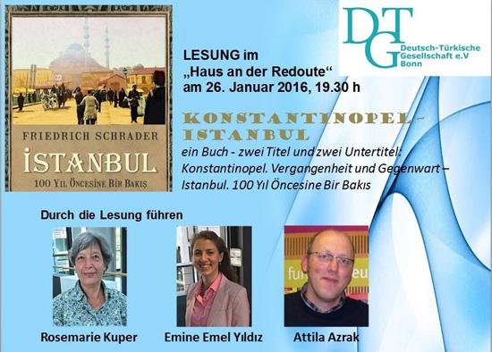 Bild Veranstaltungsplakat Konstantinopel