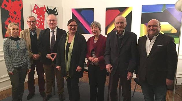 Bild neuer DTG-Vorstand Januar 2017