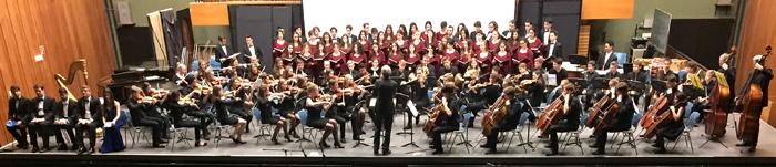 Panoramabild Freundschaftskonzert Saygın Lisesi in Koeln